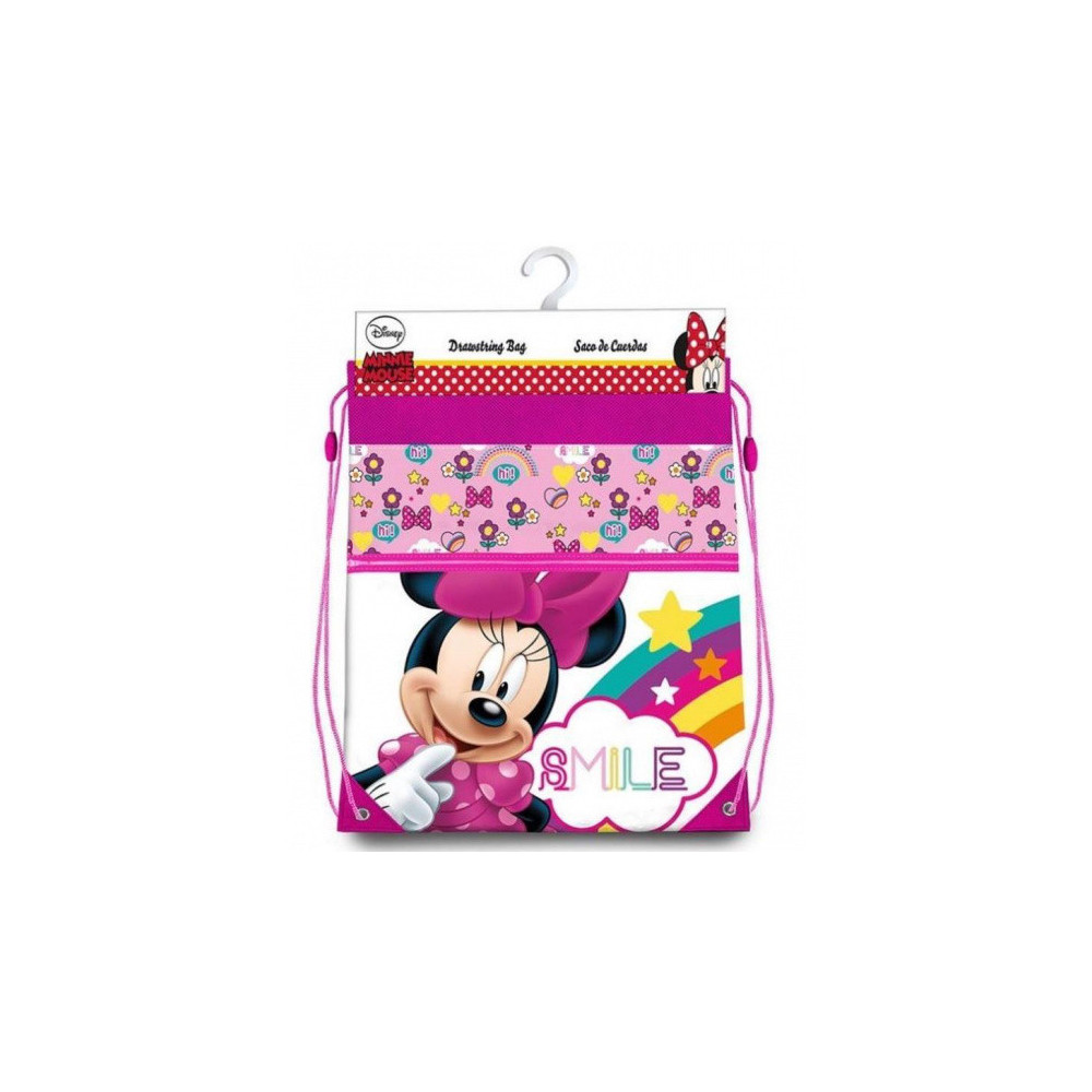 Gymtas Minnie Mouse Meisjes 7 Liter Polyester Roze