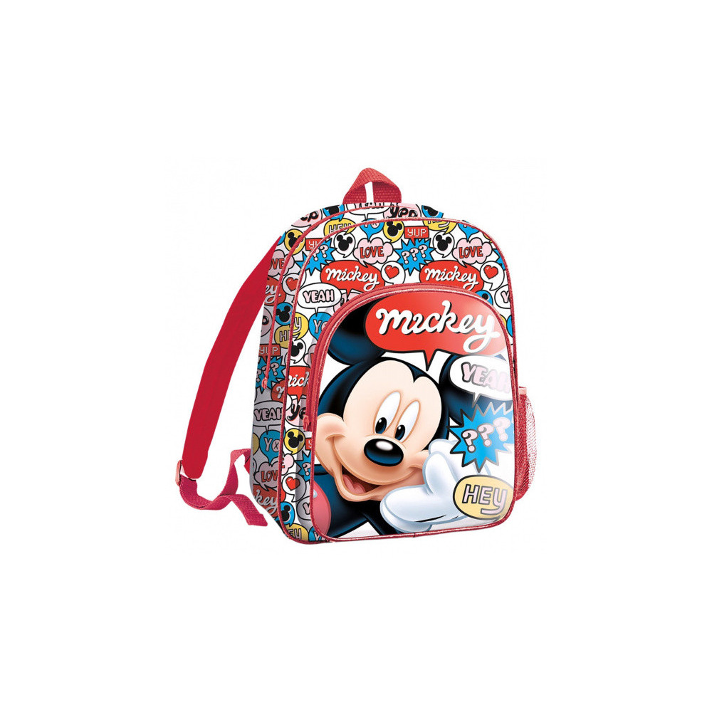 Rugzak Mickey Mouse Junior 5 Liter Polyester/PVC Rood