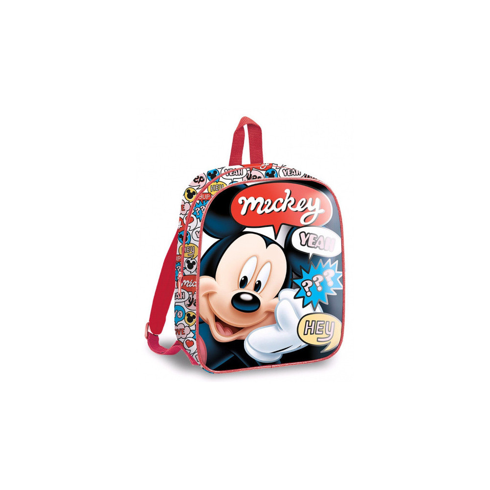 Rugzak Mickey Mouse Junior 3,5 Liter Polyester/PVC Rood