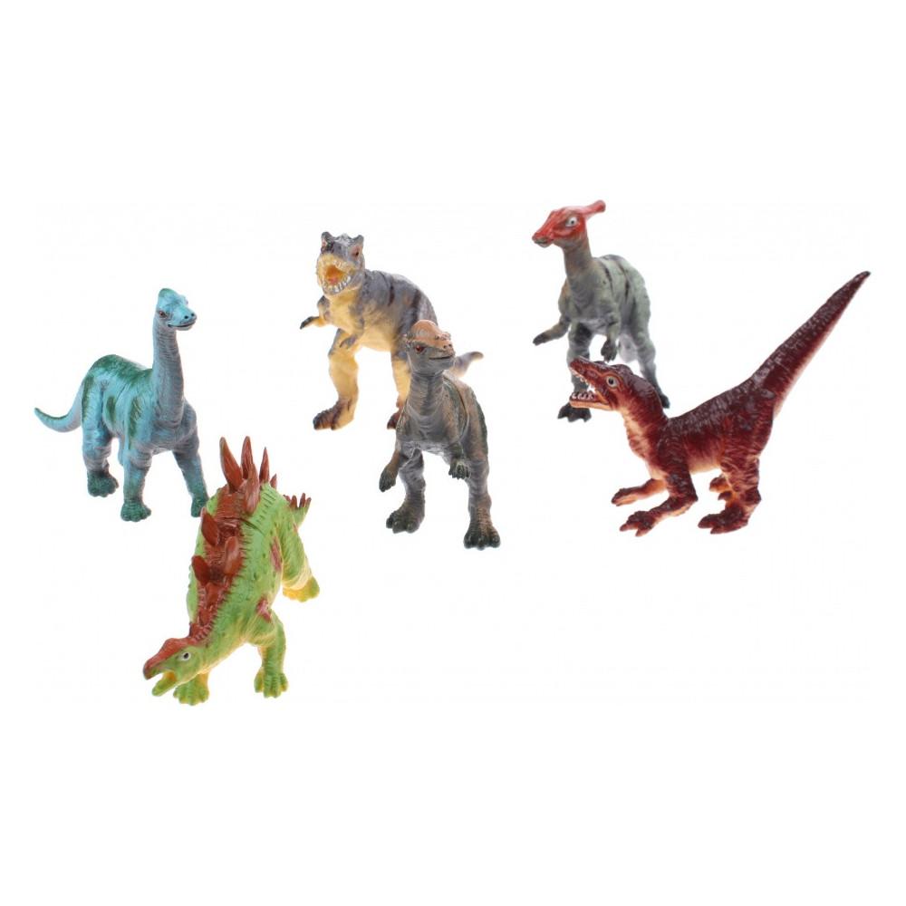 Dinosaurussen 6 StukS