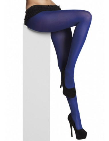 Opaque Panty Dames One Size Blauw