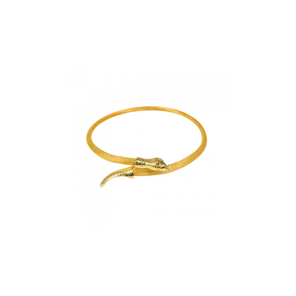 Ketting Serpent Of The Nile Dames Staal Goud