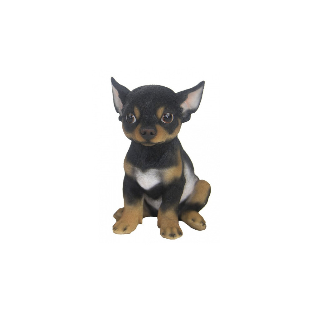 Chihuahua 19,3 X 15,9 Cm Polyresin Donkerbruin