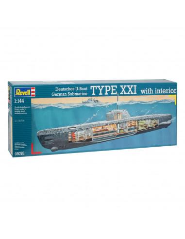 Revell Onderzeeboot Type XXI U 2540