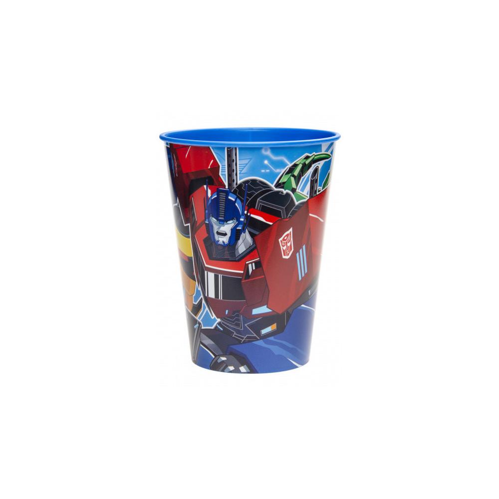 Drinkbeker Junior Transformers 260 Ml Blauw