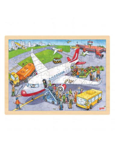 Puzzel Vliegveld, 96st. BT