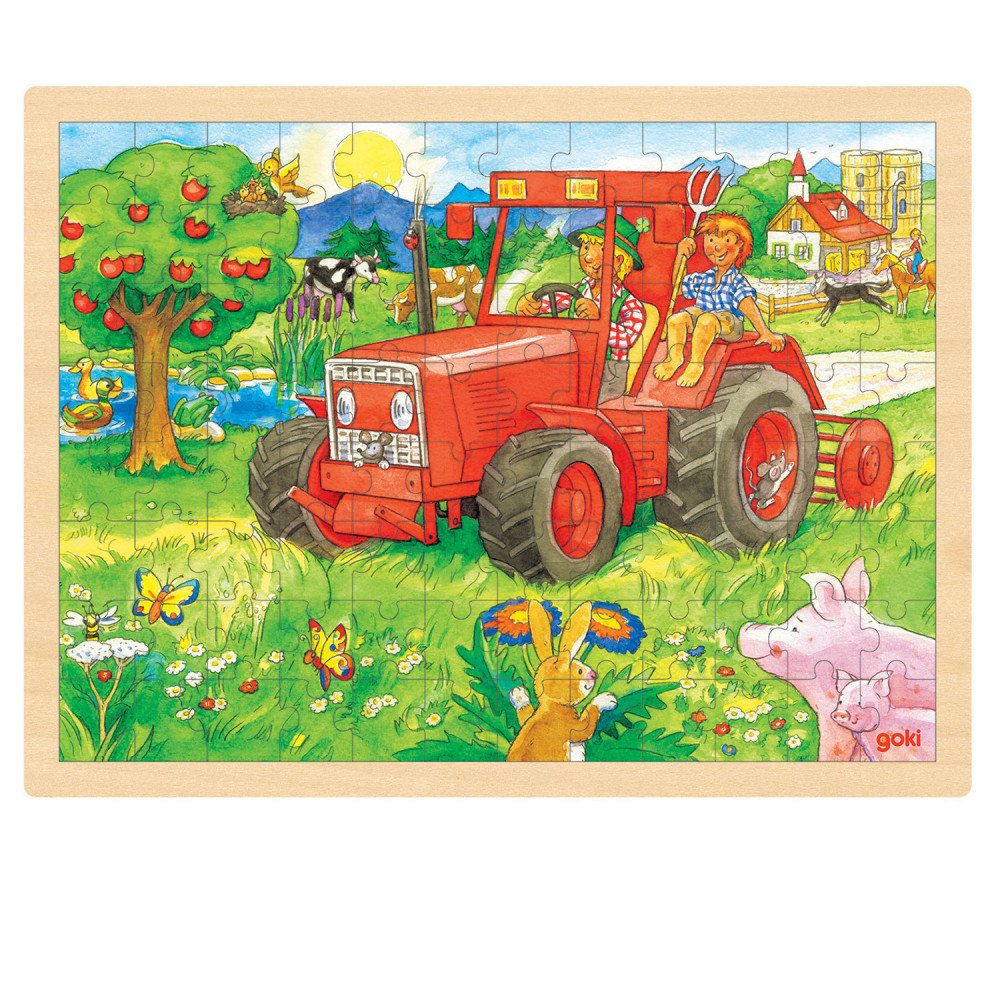 Puzzel Tractor, 96st.