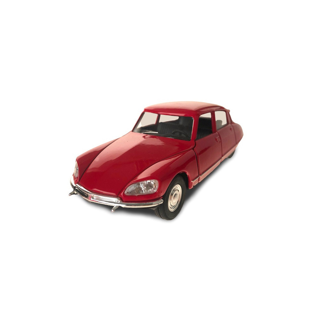 Auto Citroen DS 1973 Pull-back 1:34-39 Staal Rood