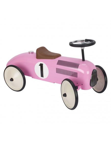 Loopauto Metaal Roze