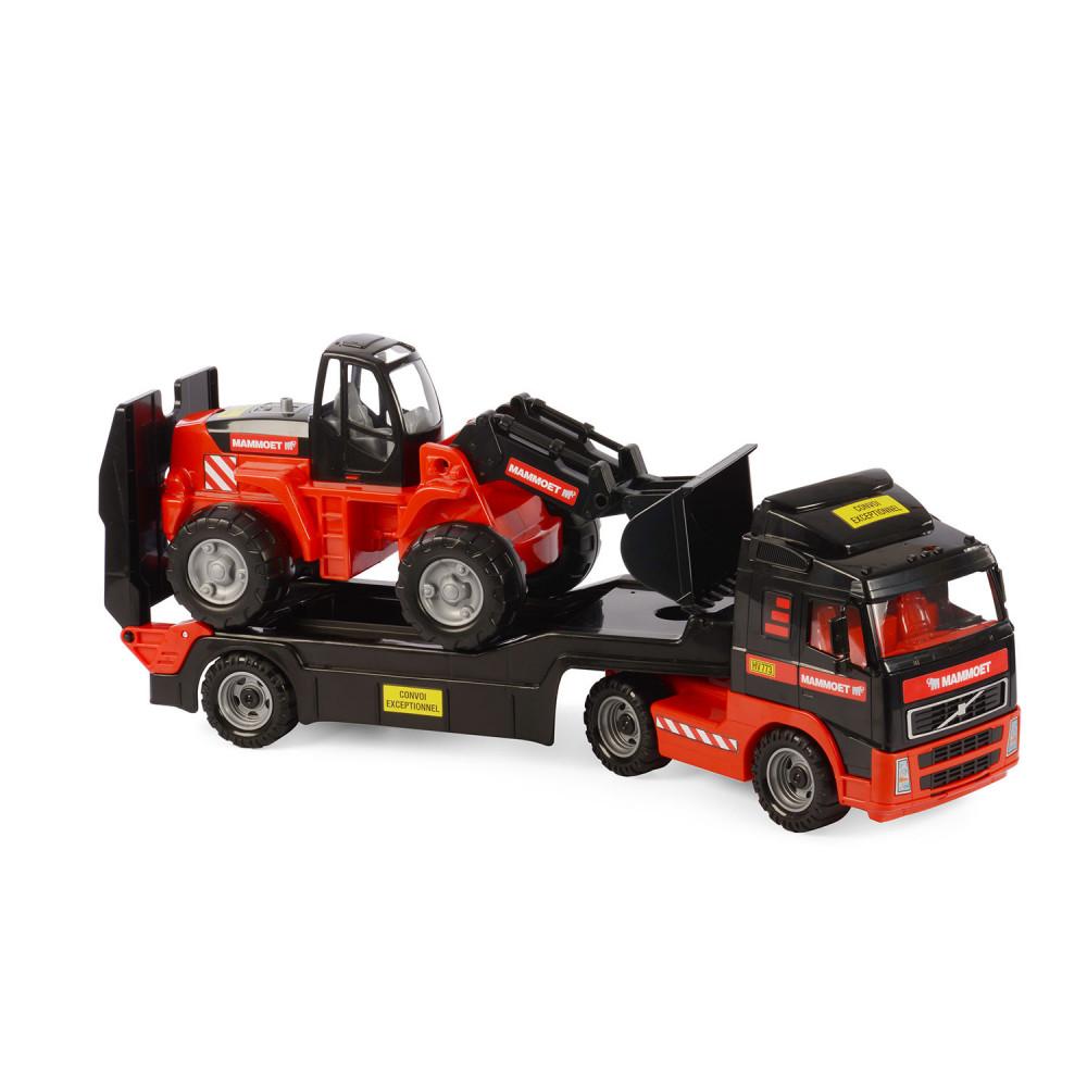 Polesie Mammoet Vrachtwagen met Aanhanger en Graafmachine