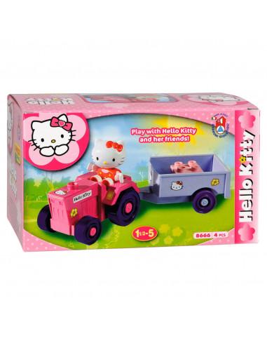 Hello Kitty Unico Miniset Tractor