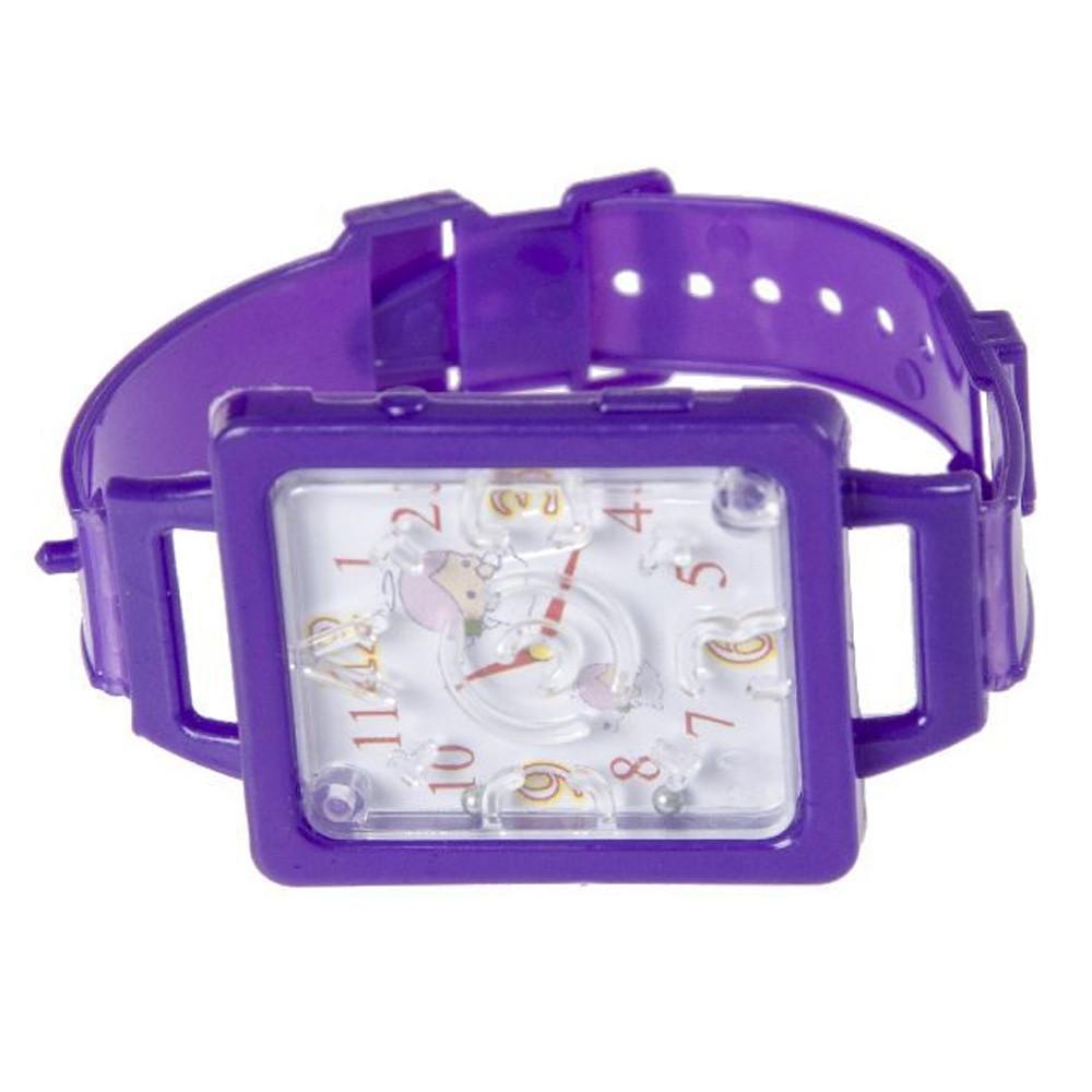 Geduldspelletje Horloge Neon
