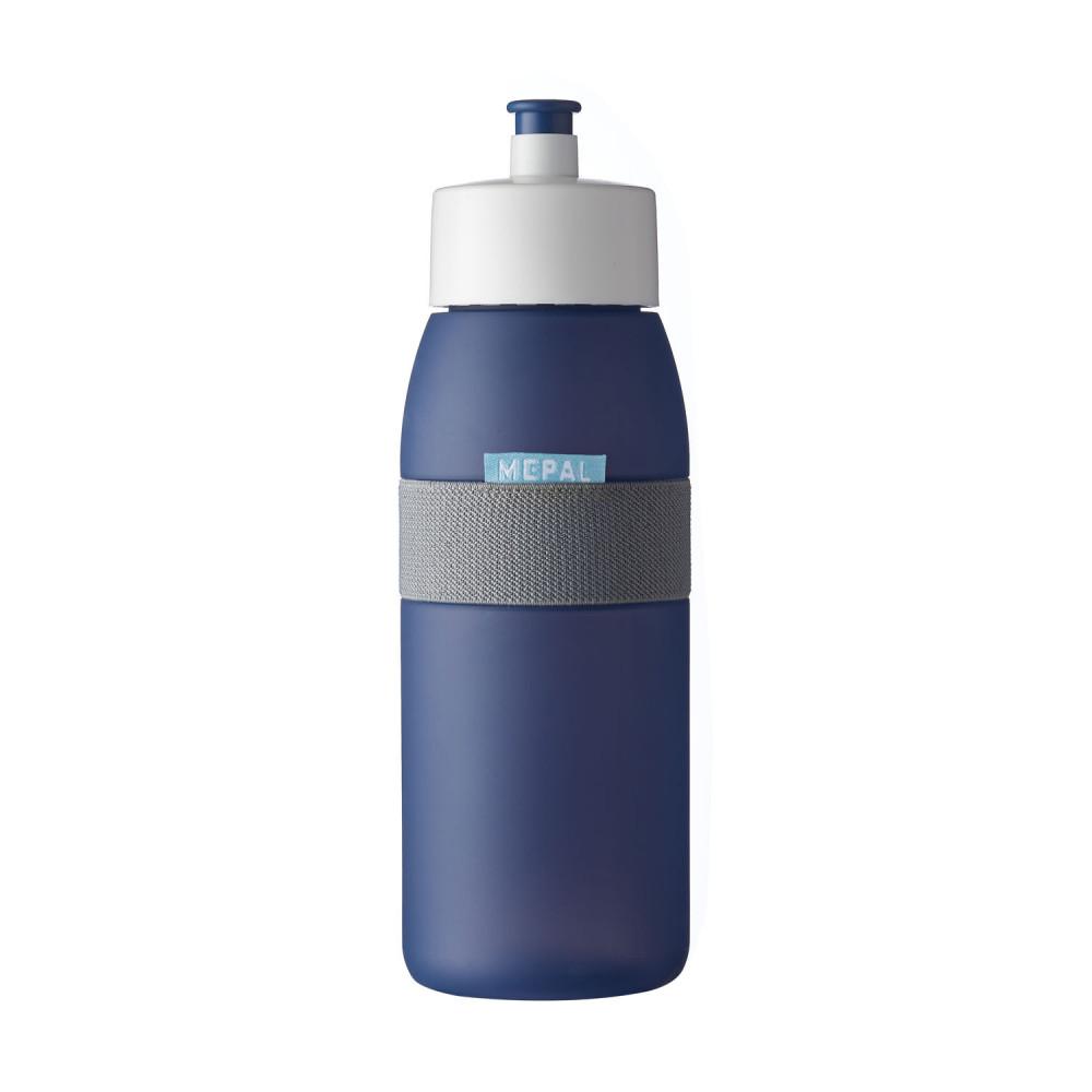 Mepal Sportbidon Ellipse - Nordic Denim, 500 ml