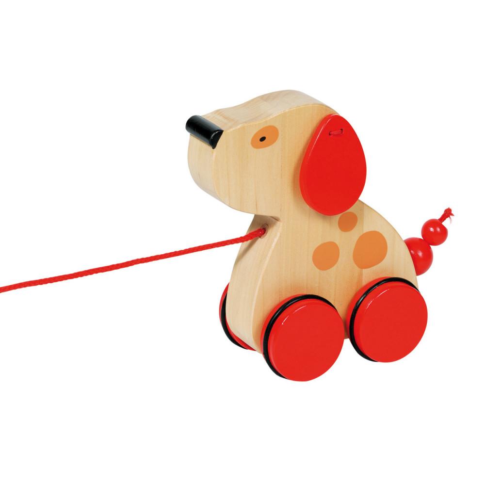 Houten Trekdier Hond