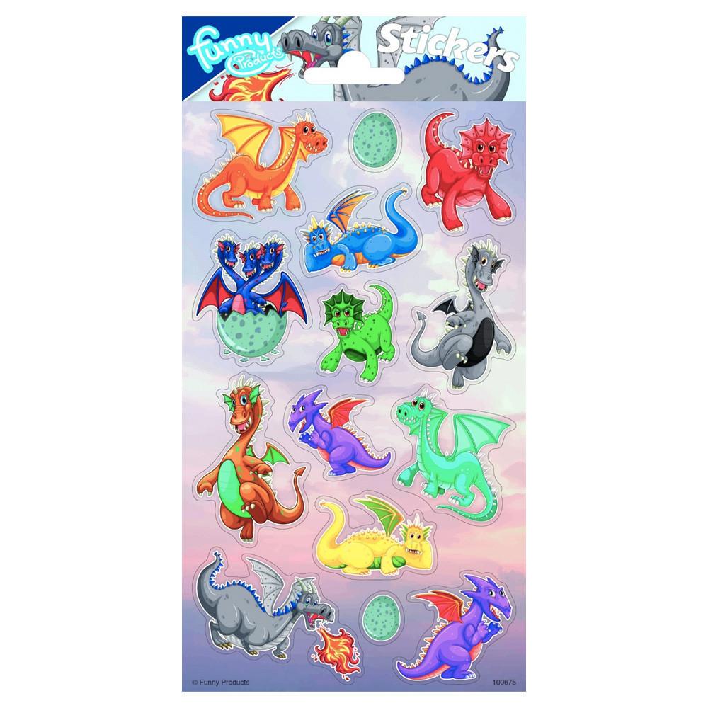 Stickervel Dragons