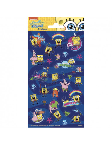 Stickervel Twinkle Sheet Spongebob...