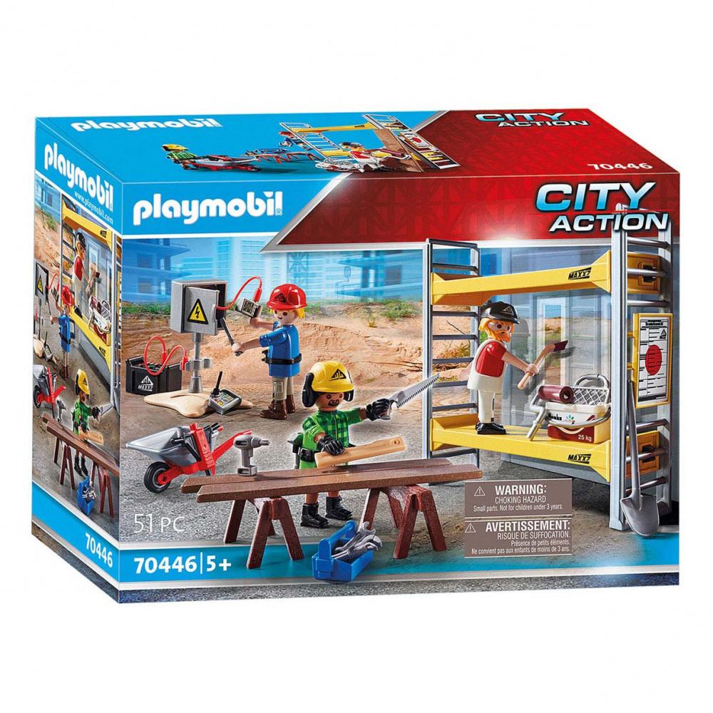 Playmobil 70446 Stelling met Werklieden