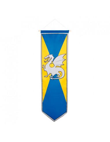 Ridder Banner - Blauw/Geel