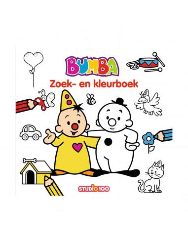 Bumba Zoek- en Kleurboek