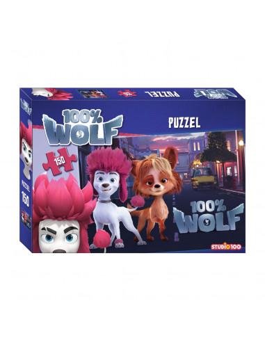 100% Wolf Puzzel, 150st.