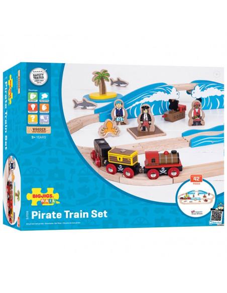 BigJigs Treinset Piraten