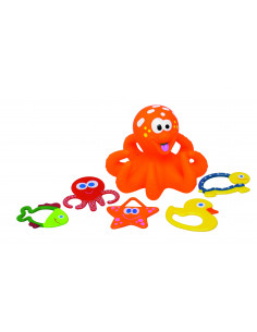 Badspeelgoed Octopus - Oranje