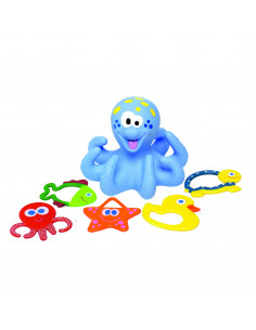 Badspeelgoed Octopus - Blauw