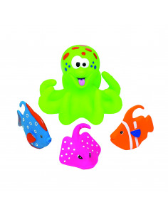 Badspeelgoed Octopus - Groen