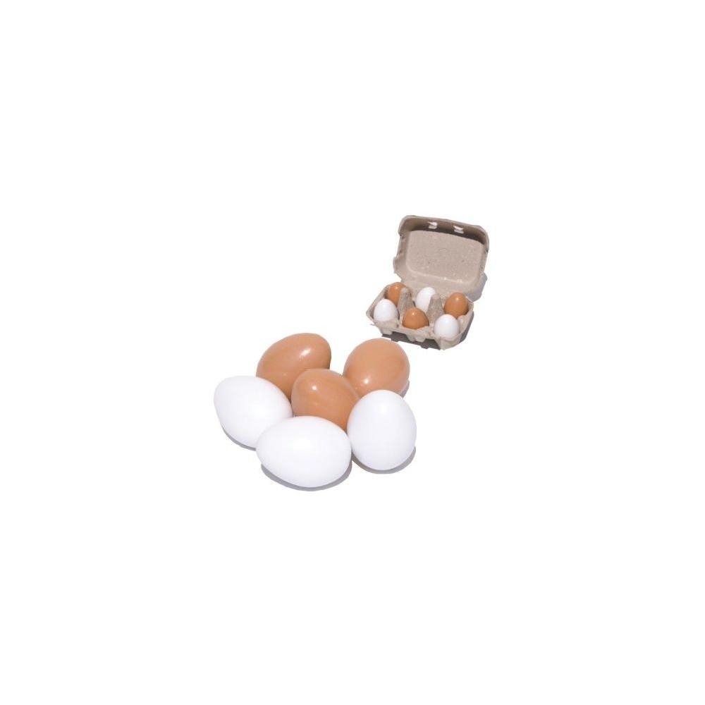Eieren in een doosje