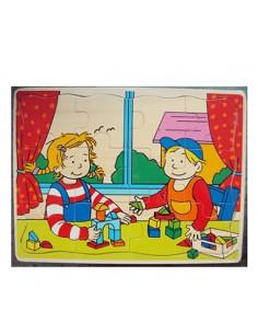 Puzzel Jongen en Meisje