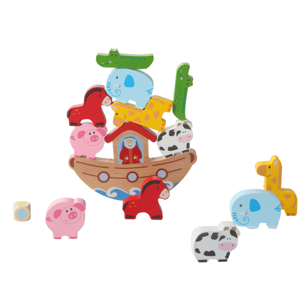 Balansspel Noach's Ark in Blik