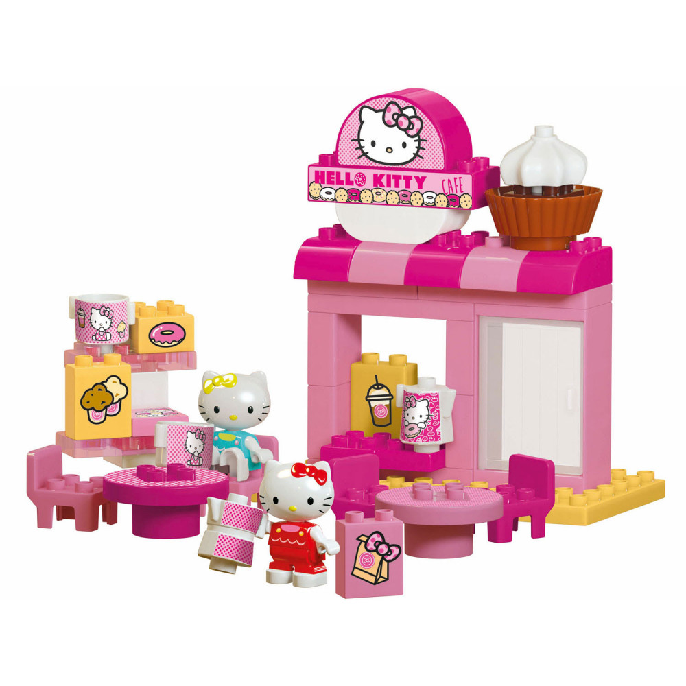 PlayBIG Bloxx Hello Kitty Koffiewinkeltje
