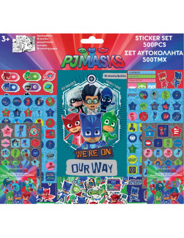 Stickervellen PJ Masks Jongens 39 X...