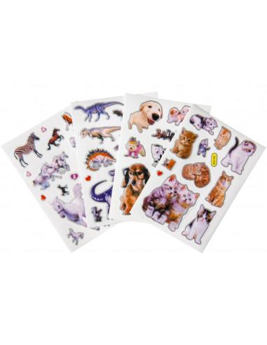 Stickers Diverse Dieren