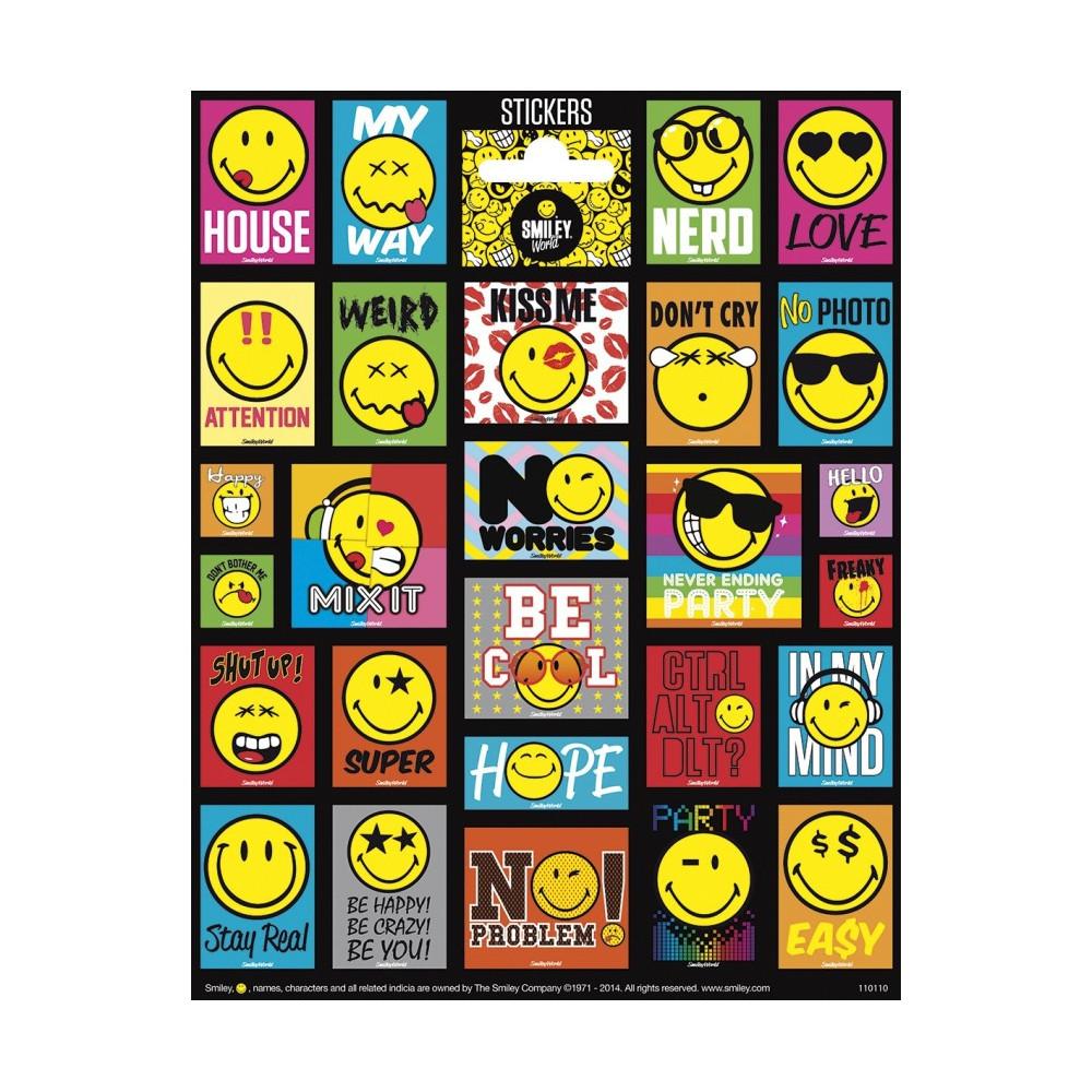 Stickervel Smiley World