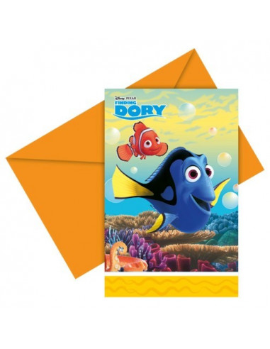 Uitnodigingen Finding Dory