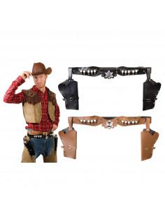 Cowboyholster Dubbel