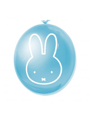 Ballonnen Nijntje Blauw, 6st.