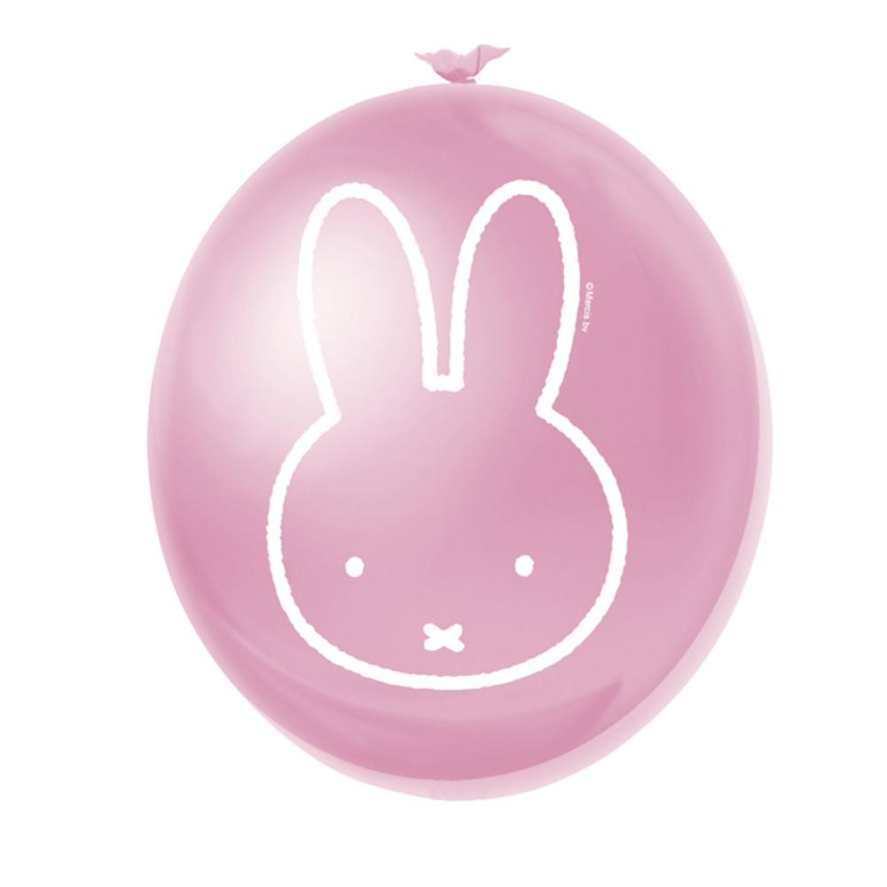 Ballonnen Nijntje Roze, 6st.
