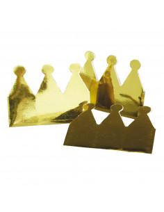 Kroontjes Goud Metallic, 6st.