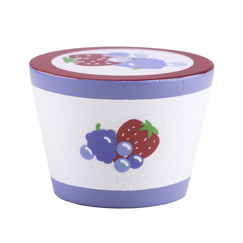 Houten Yoghurt, per stuk BT