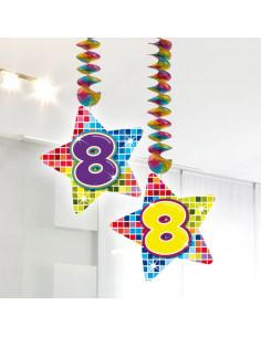 Hangdecoratie Blocks 8