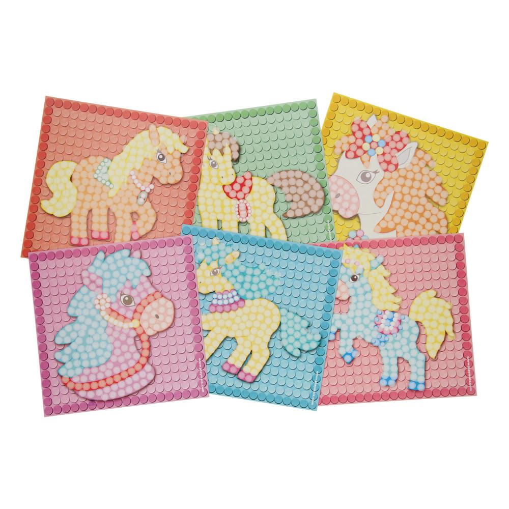 PlayMais Mosaic Kaarten Versieren Dream Pony