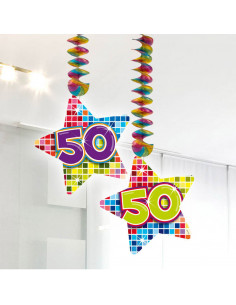 Hangdecoratie Blocks 50