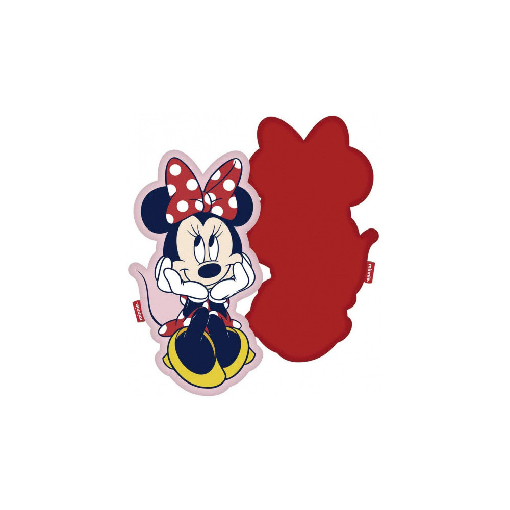 Kussen Minnie Mouse 40 X 22 Cm Polyester Rood