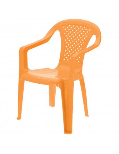 Kinderstoel Oranje