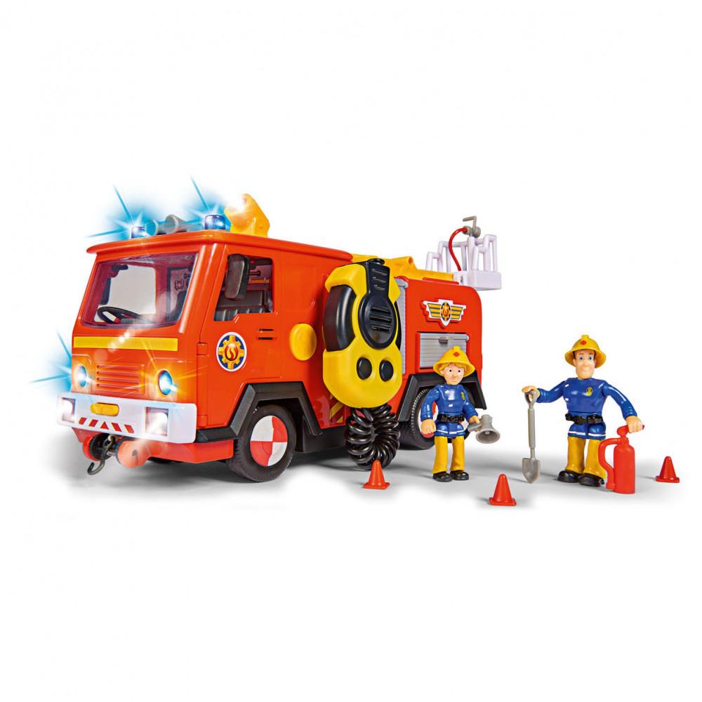 Brandweerman Sam Brandweerwagen met Speelfiguren