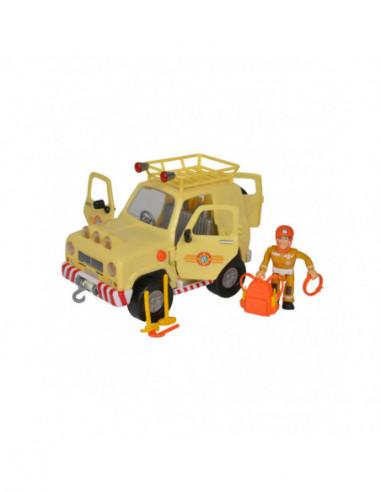 Brandweerman Sam Jeep Mountain 4x4