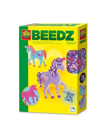 SES Strijkkralen Fantasy Paard Glow...