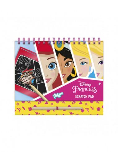 Totum Disney Prinses Scratchboek